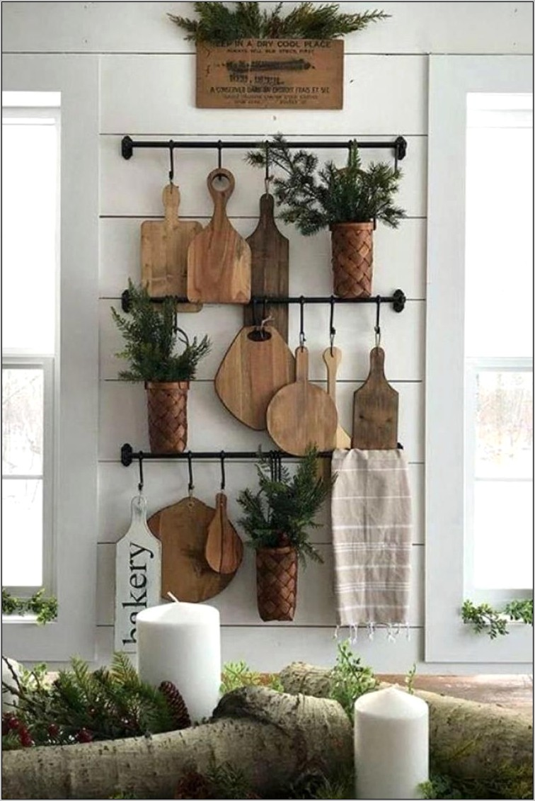 Holiday Kitchen Wall Decor