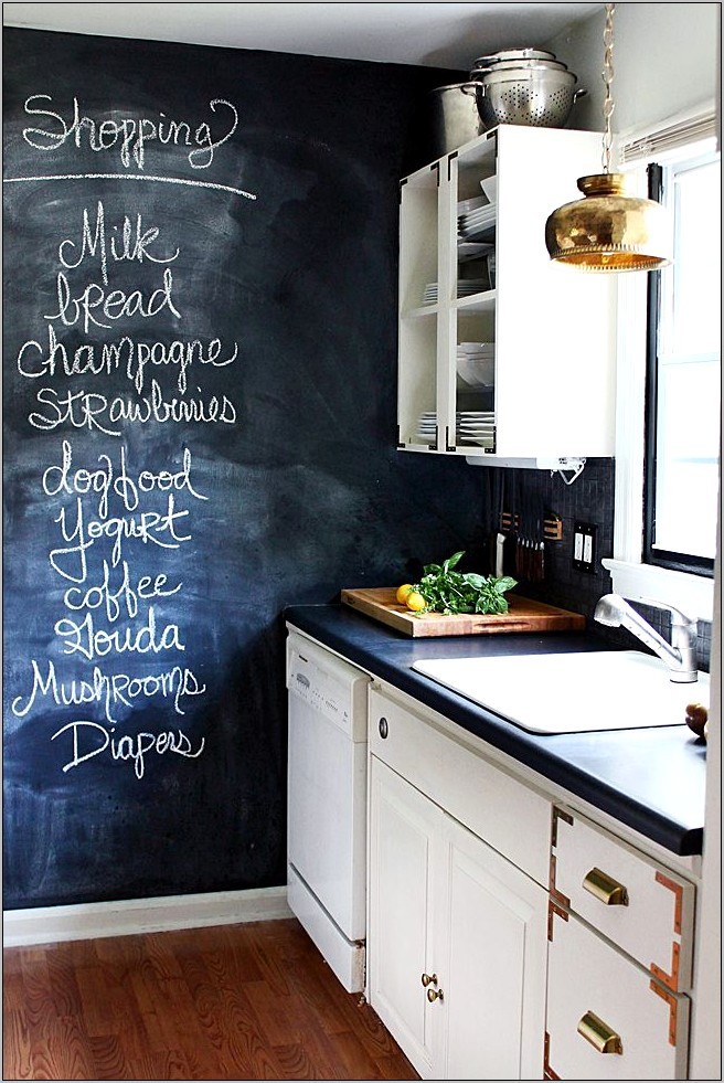 Home Decor Chalkboard Kitchen