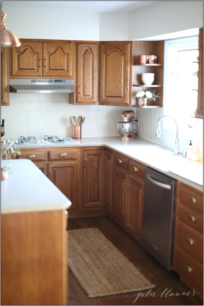 Honey Gold Kitchen Decorative Items