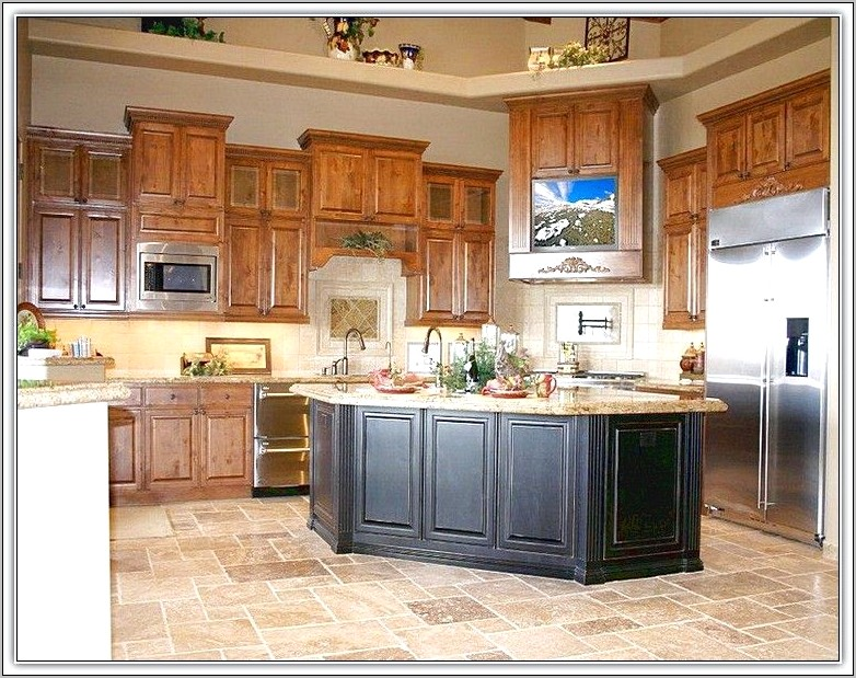 Honey Oak Kitchen Cabinets Decorating Ideas
