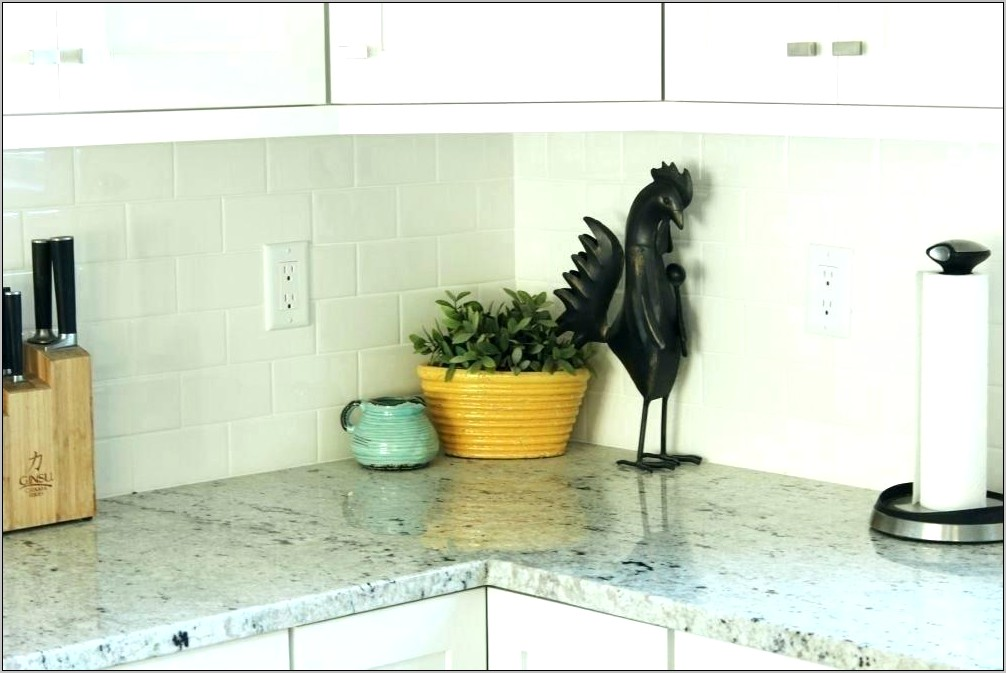 How To Decorate Kitchen Counter Corner