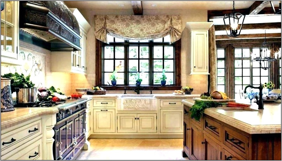 How To Decorate Upper Kitchen Cabinets