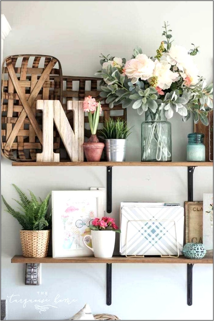 Ideas For Decorating Shelves In The Kitchen
