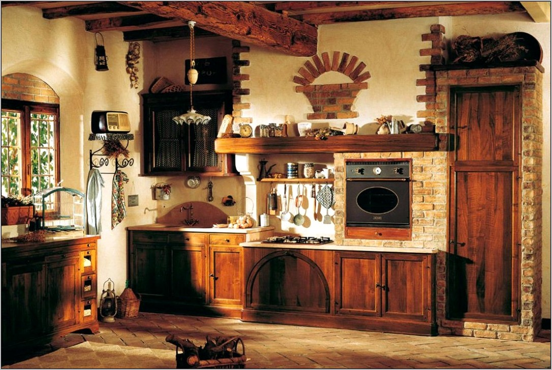 Ideas For Decorating Small Rustic Kitchens