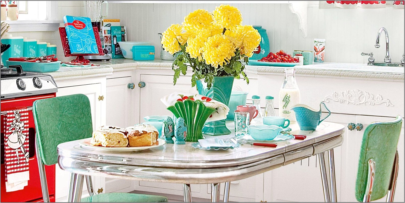 Ideas For Retro Kitchen Decorating