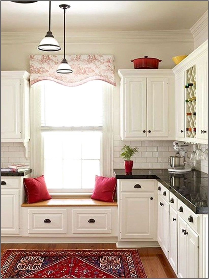 Ideas Kitchen Window Seat Decoration