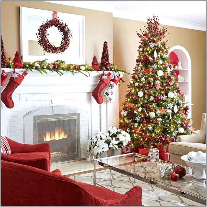 Ideas To Decorate A Kitchen For Christmas
