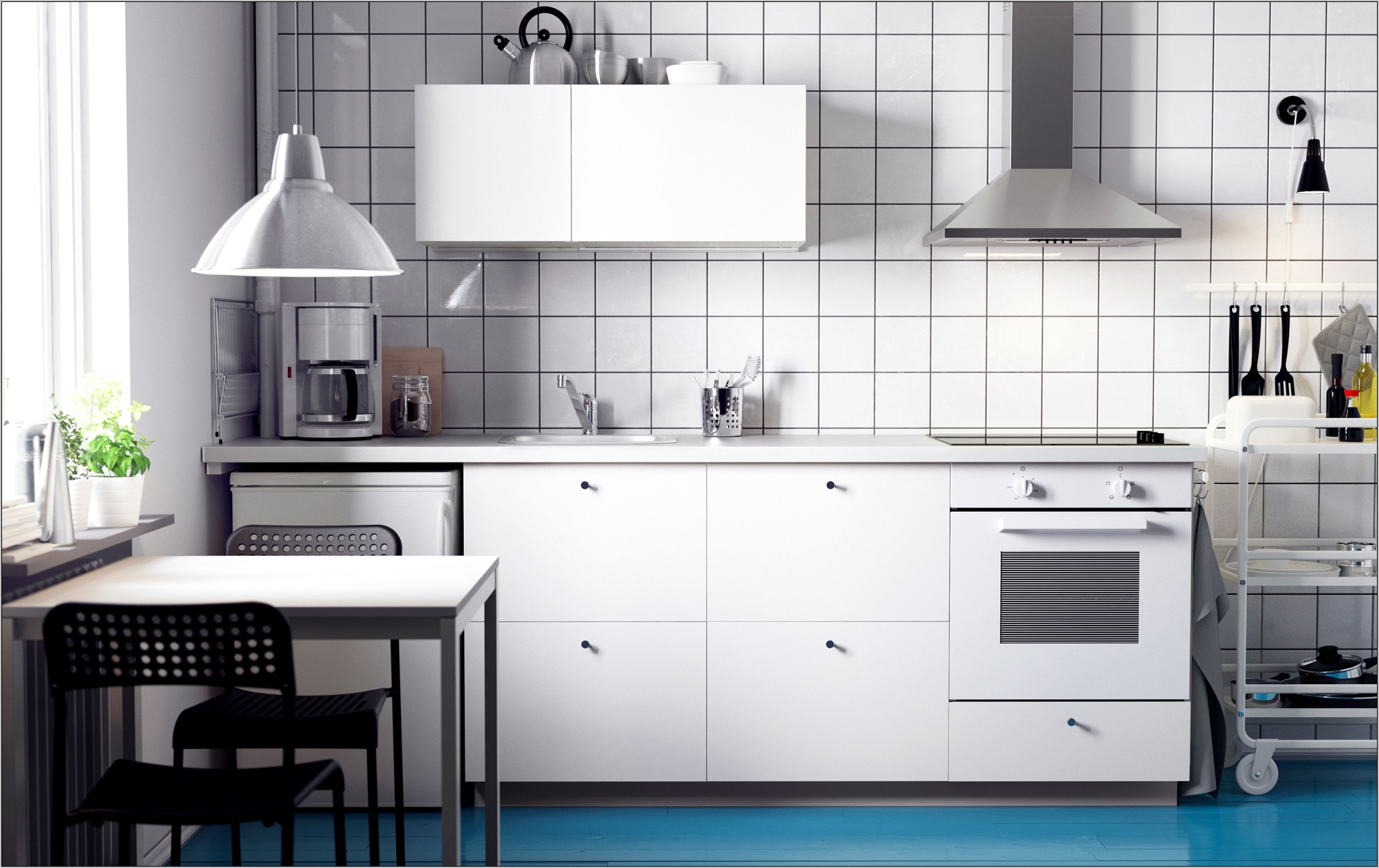 Ikea Small Kitchen Decorating Ideas