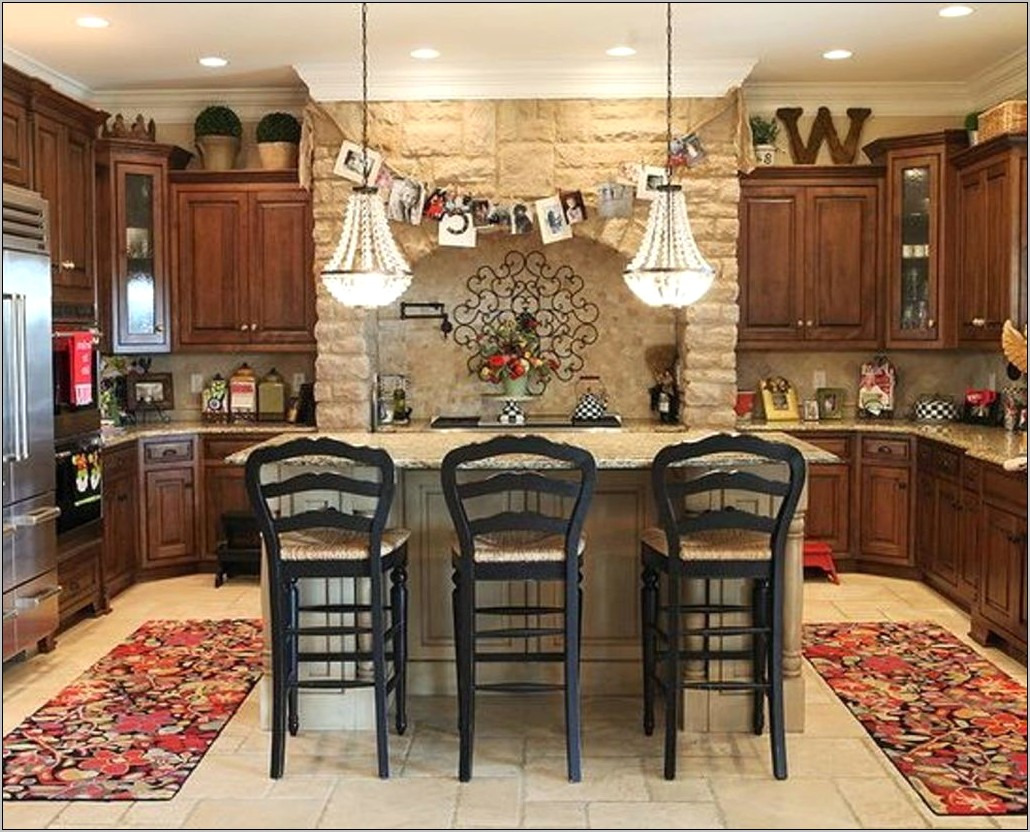 Images For Decorating Above Kitchen Cabinets