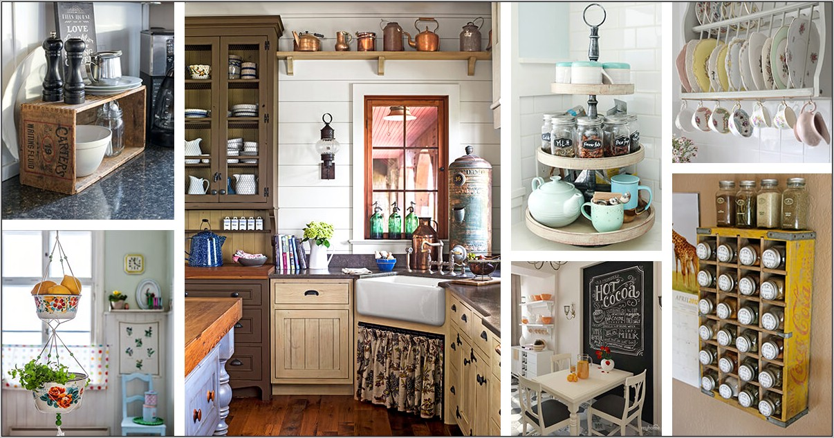 Incorporating Old Fashion Decor Into The Kitchen