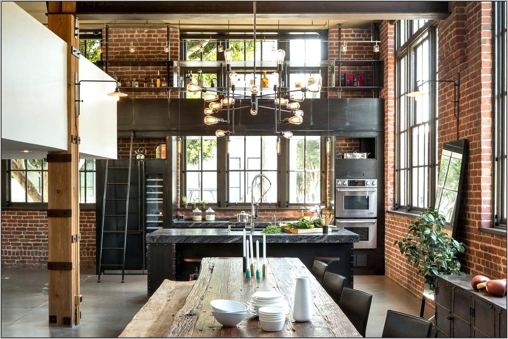 Industrial Decorating Ideas For Kitchen