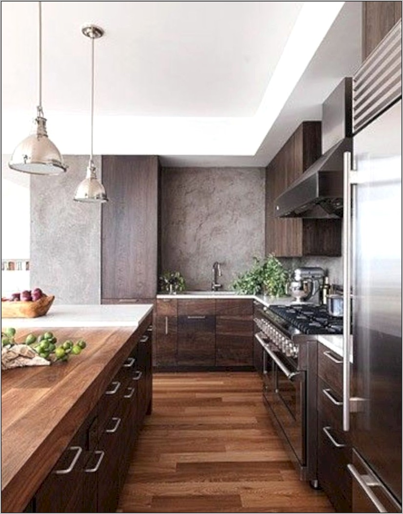 Industrial Modern Kitchen Decor