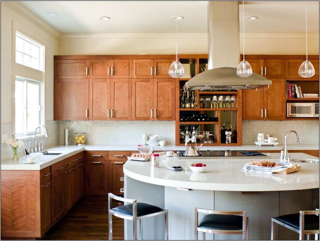 Interior Decoration Kitchen Cabinets