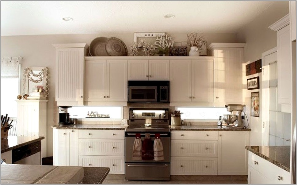 Is Decorating Above Kitchen Cabinets Outdated