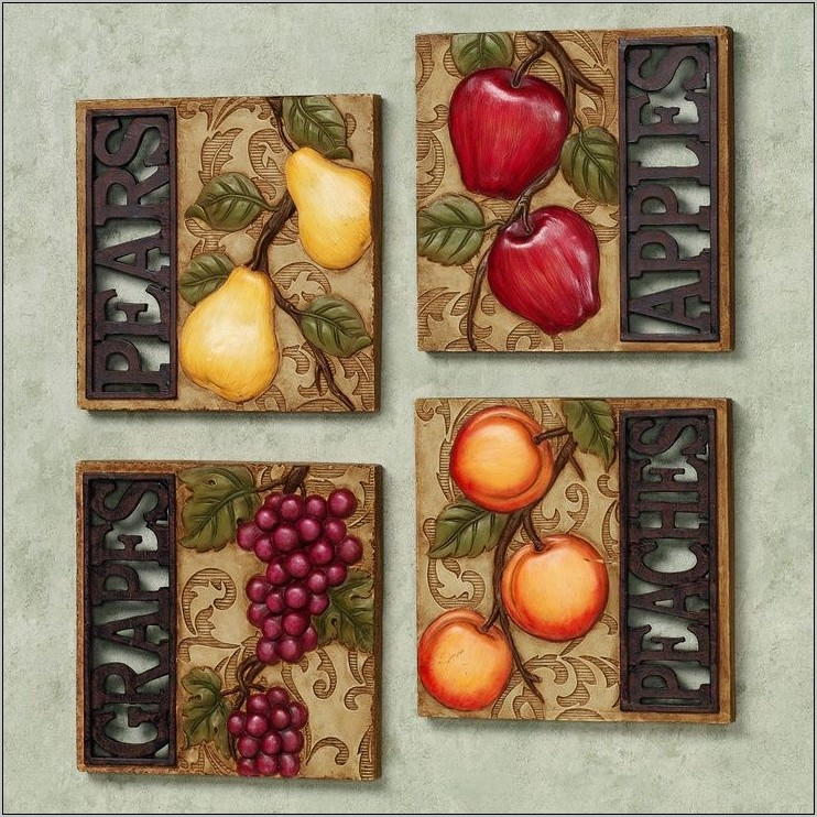 Italian Grapes Kitchen Wall Decorations