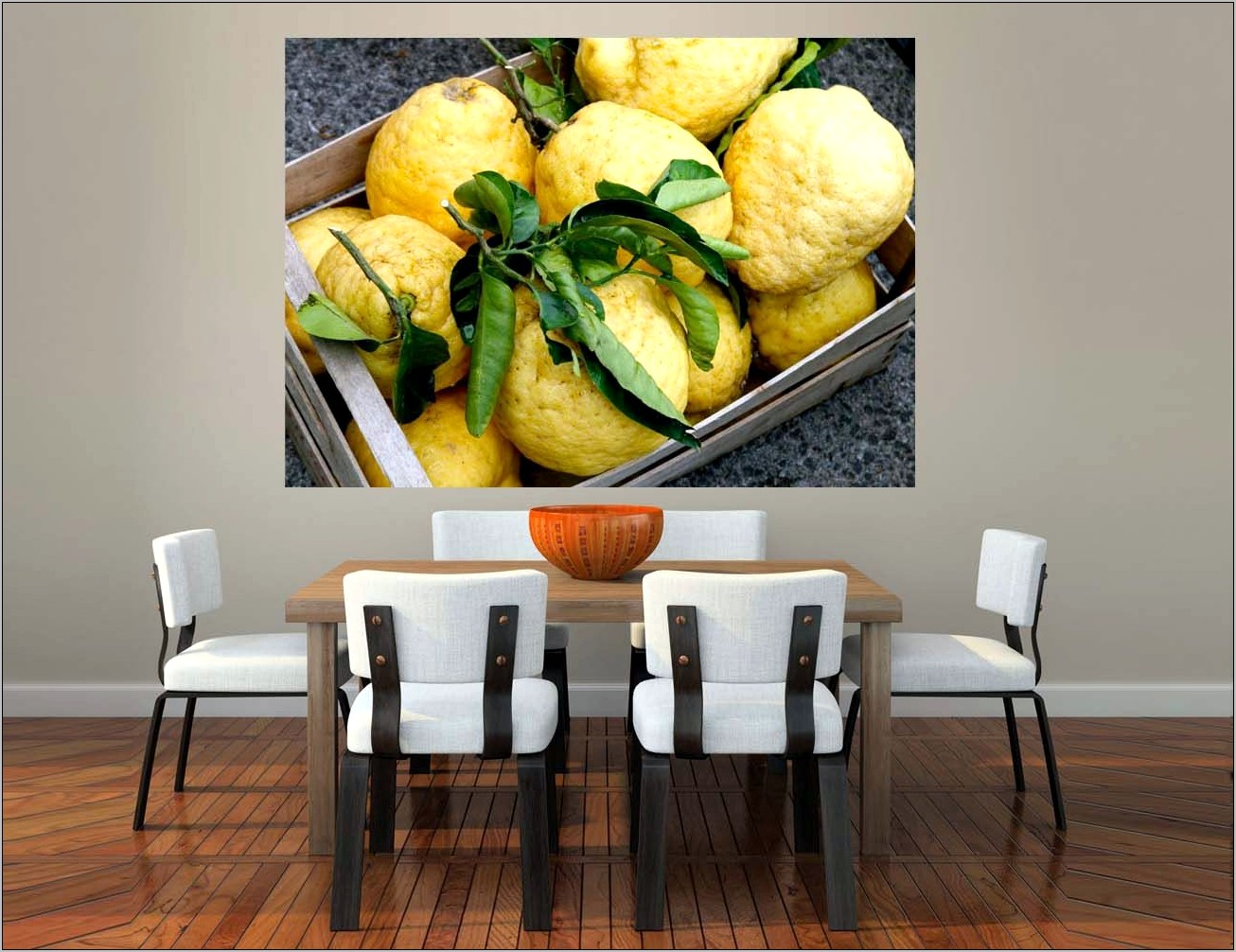 Italian Lemon Kitchen Decor