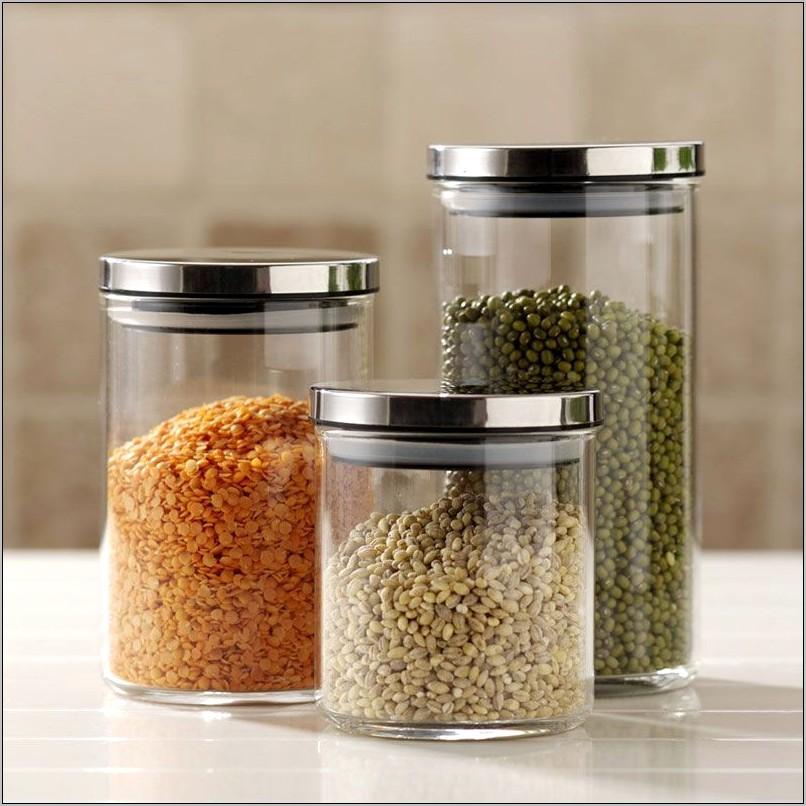 Jar Of Food Kitchen Decorations