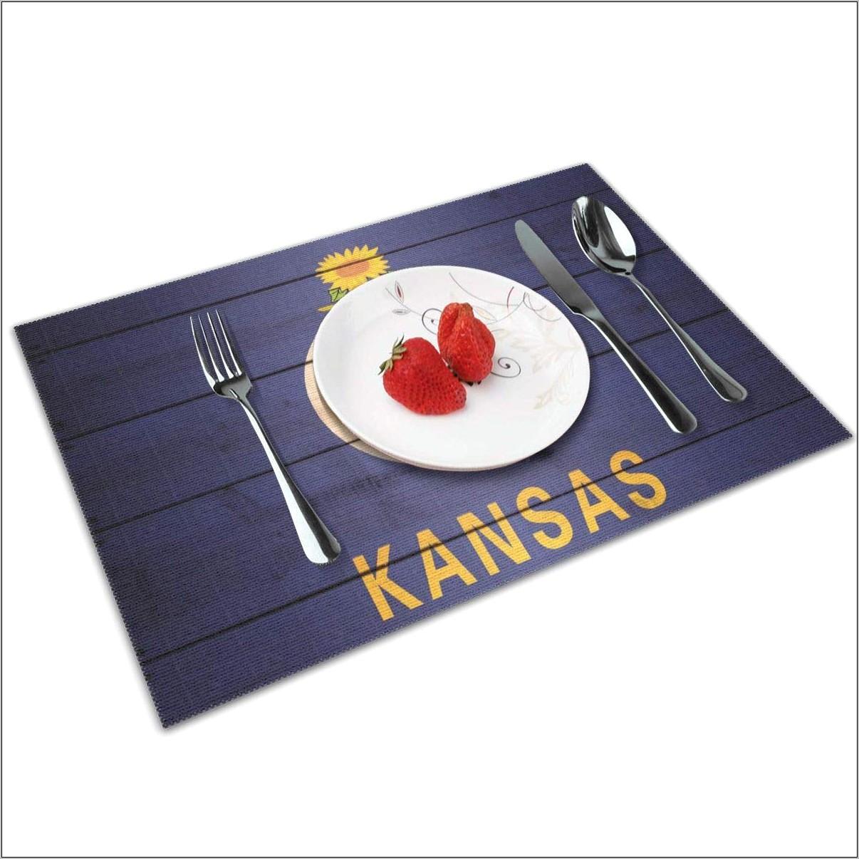 Kansas Decorative Kitchen Plates