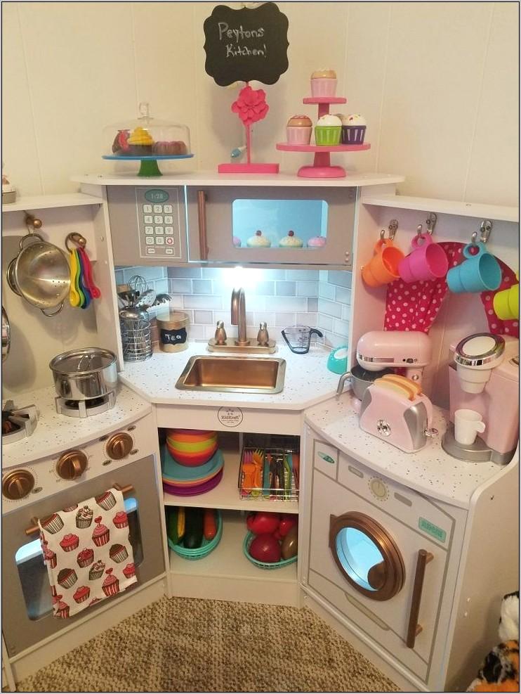 Kids Corner Decor In The Kitchen Area