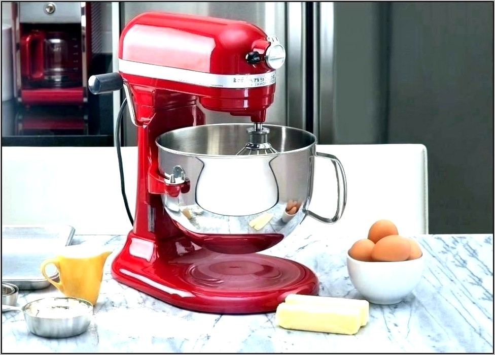 Kitchen Aid Stand Mixer Decoration