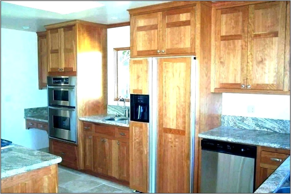 Kitchen Cabinet Decorative End Panel Installation