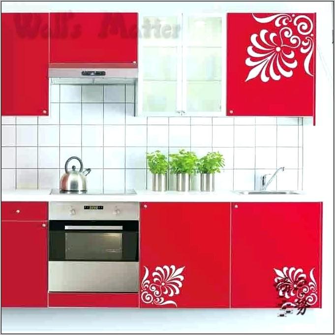 Kitchen Cabinet Sticker Decorations