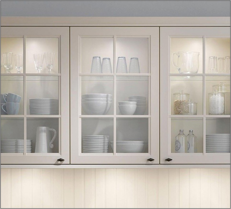 Kitchen Cabinets Decorative Glass