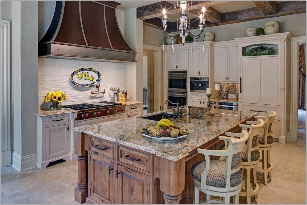 Kitchen Cabinets With Decorative Range Hood