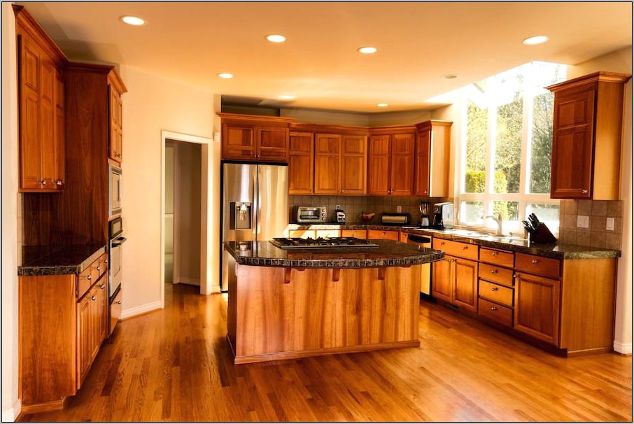 Kitchen Cabinets Wood Decorations