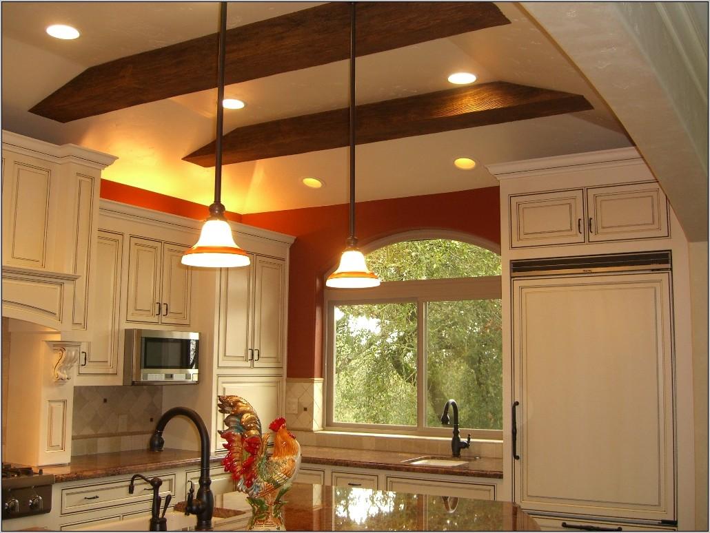 Kitchen Ceiling Decorative Beams