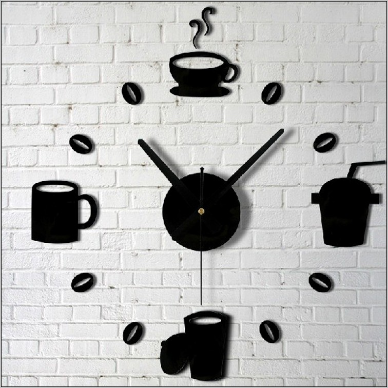 Kitchen Clock Wall Decor