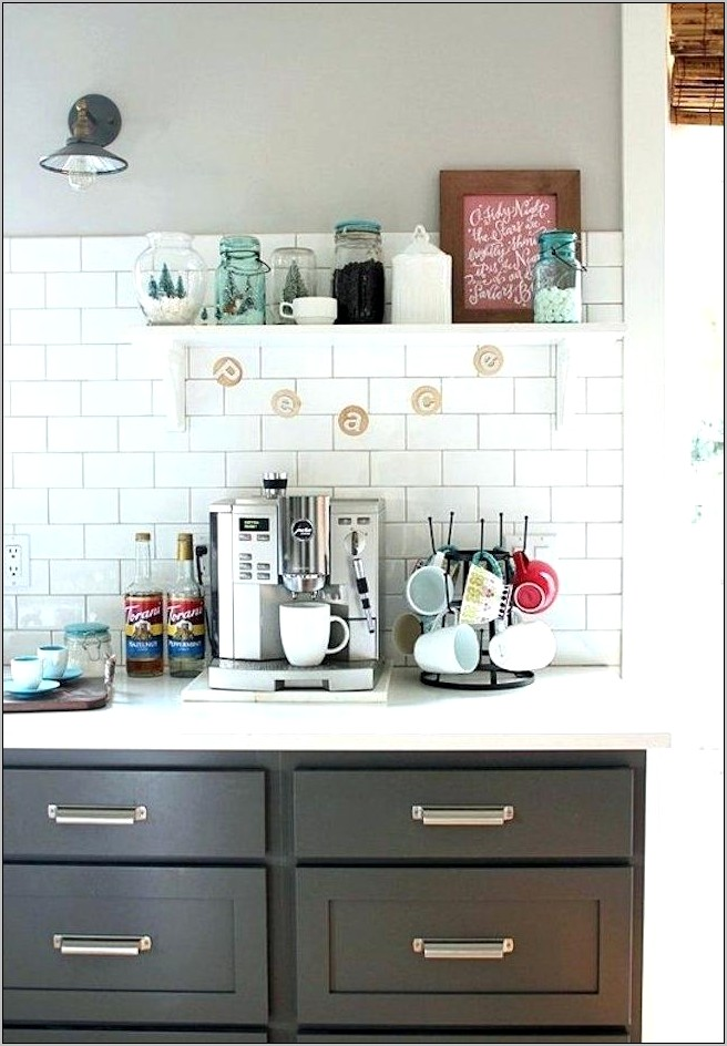 Kitchen Coffee Station Decor