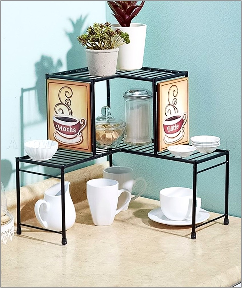 Kitchen Counter Decor Shelf