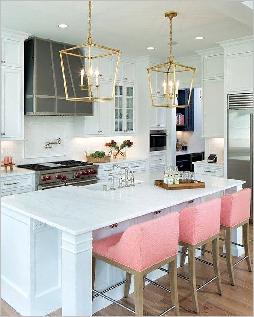 Kitchen Counter Decor White Marble