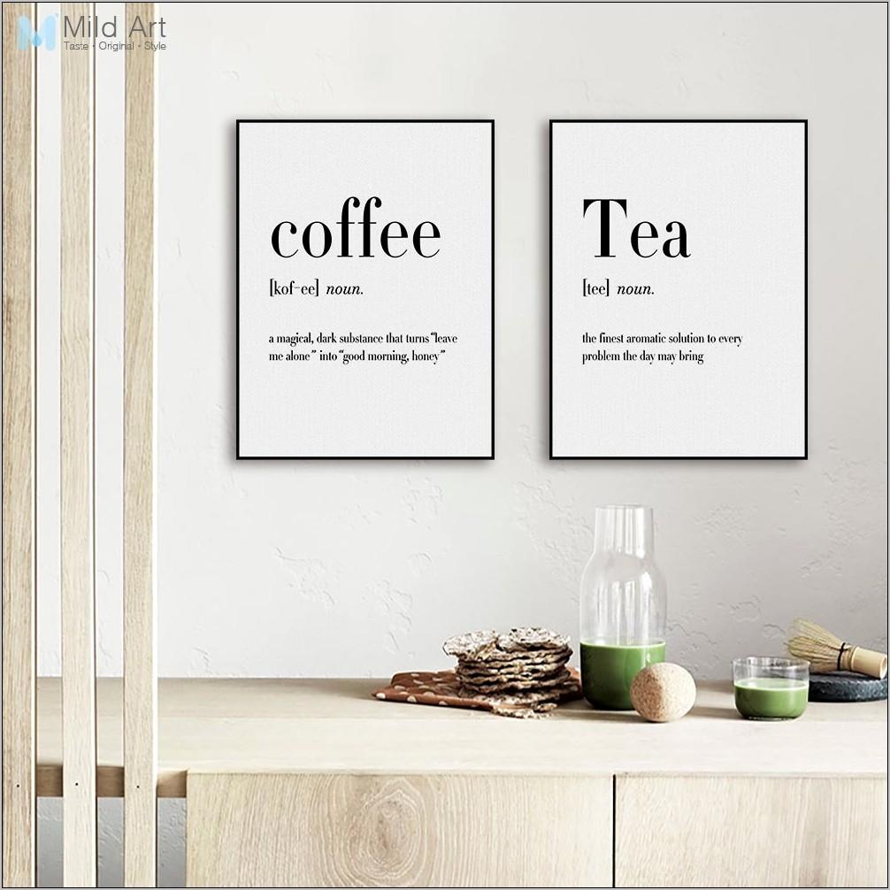 Kitchen Decor Art French Language