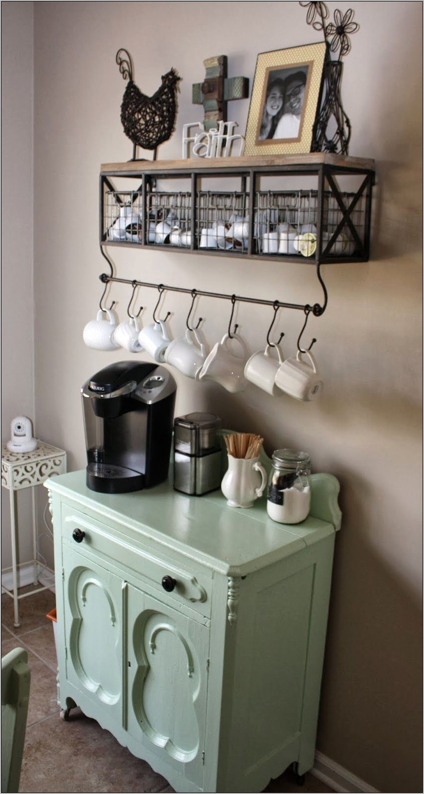 Kitchen Decor For Home Coffee Bar