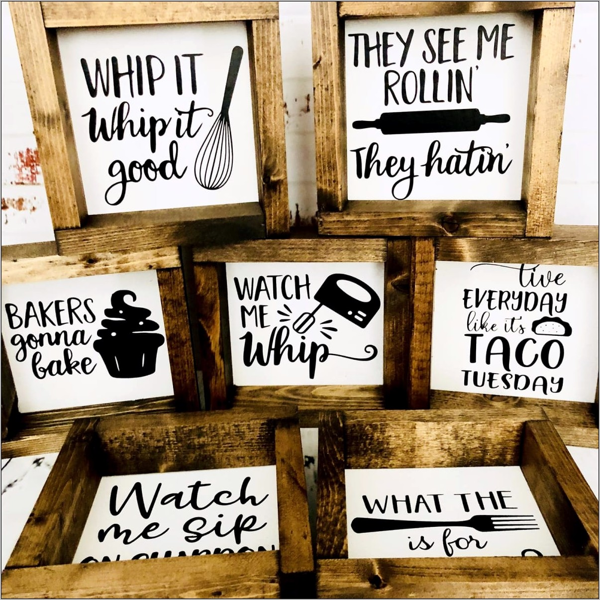 Kitchen Decor Funny Signs