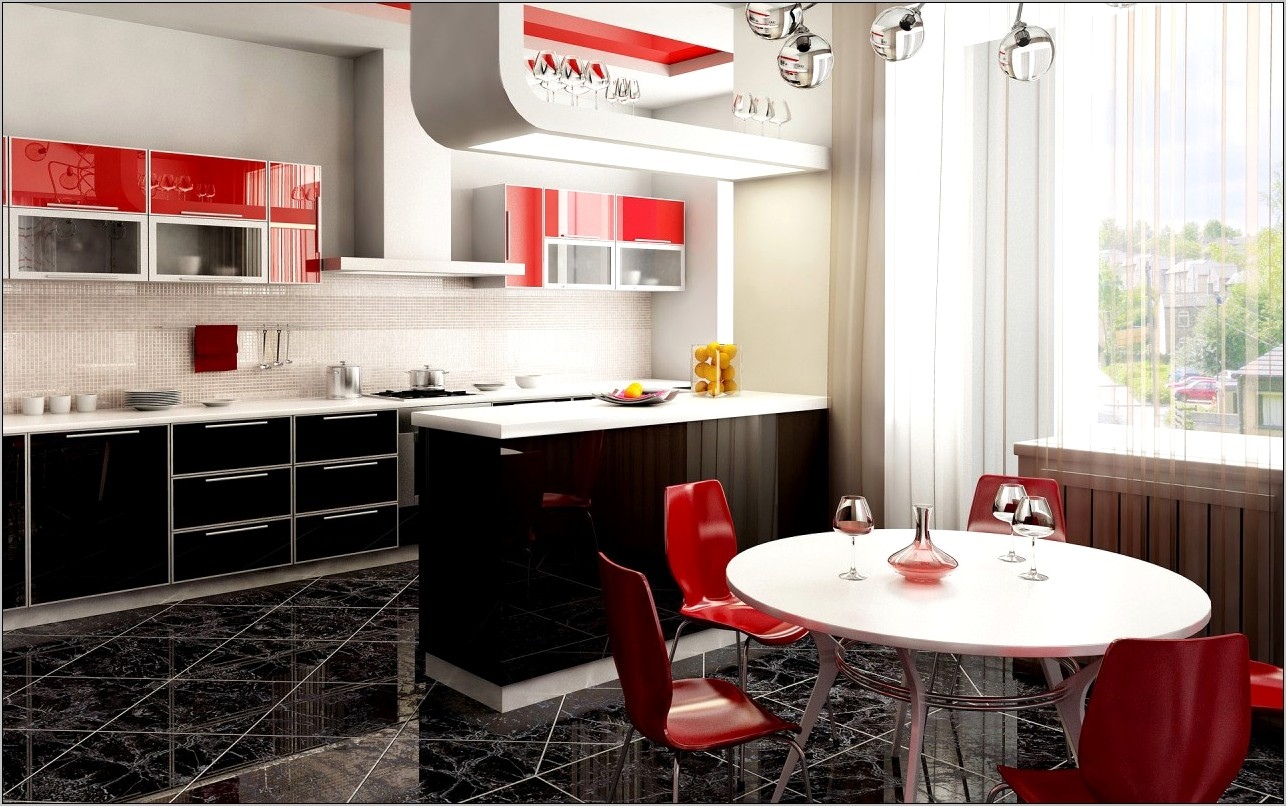 Kitchen Decor Ideas In Red