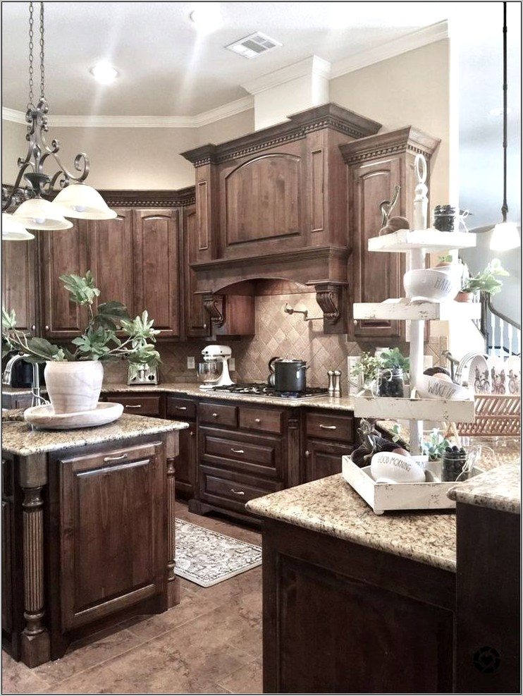Kitchen Decor Ideas With Dark Cabinets