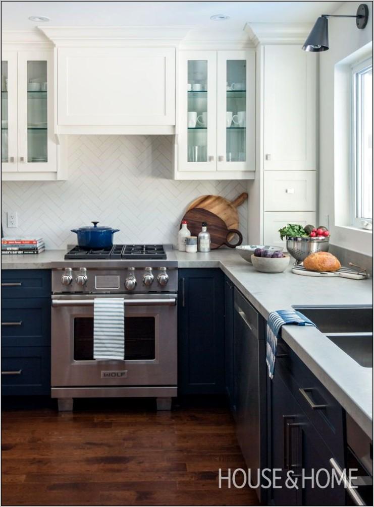 Kitchen Decor In Blue