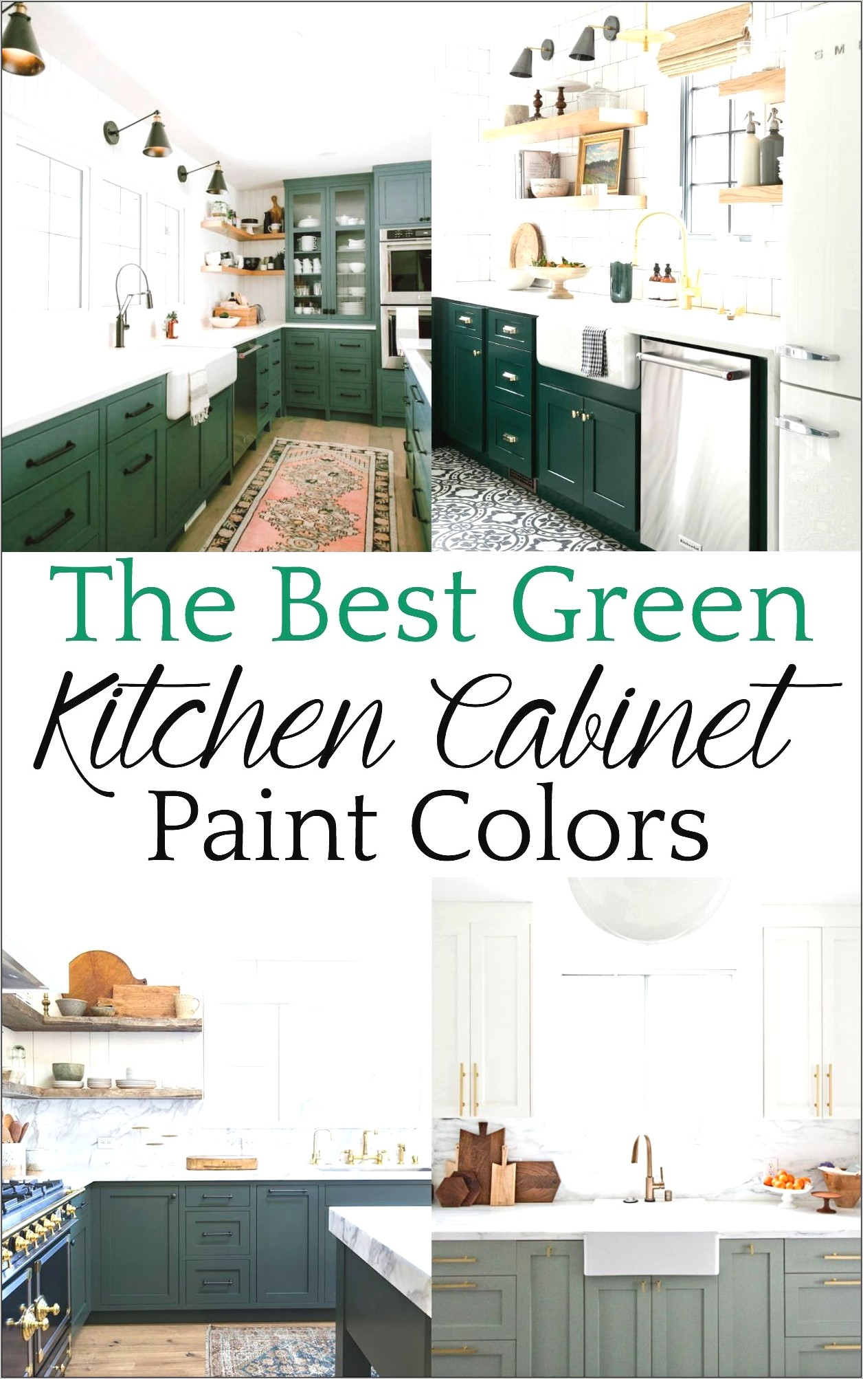 Kitchen Decor In Green
