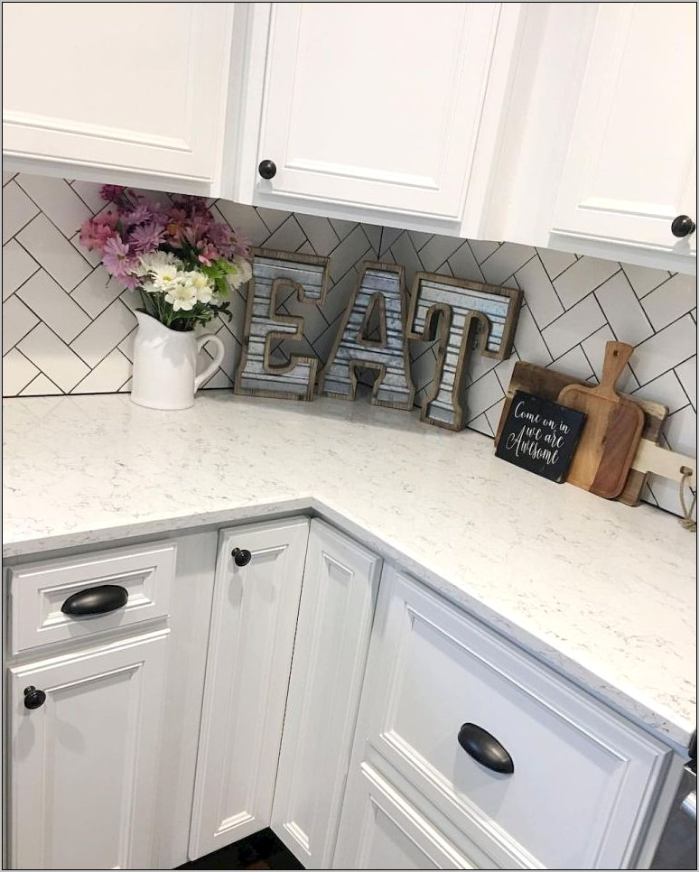 Kitchen Decor On Counter