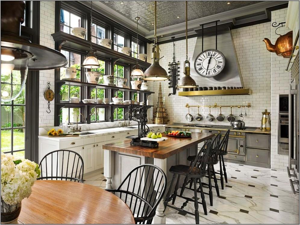 Kitchen Decor Rustic Steam Punk