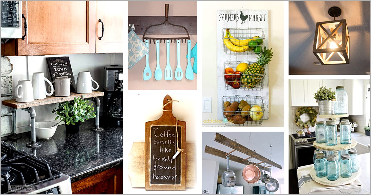 Kitchen Decor Theme Ideas Tin Signs