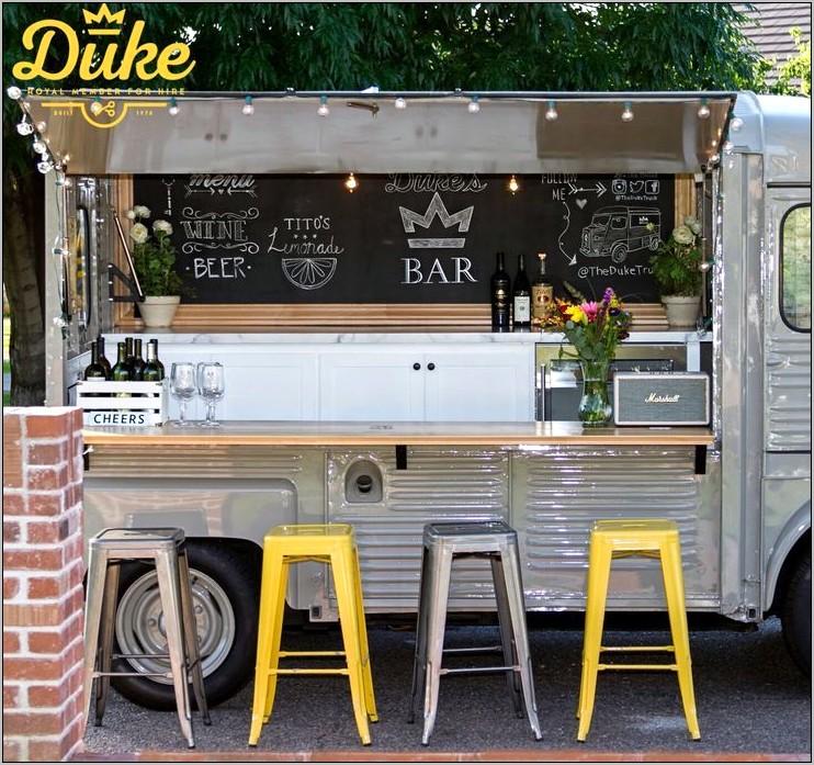 Kitchen Decor Vintage Food Truck