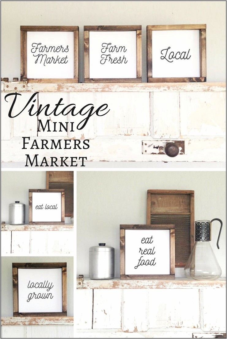 Kitchen Decor Vintage Signs
