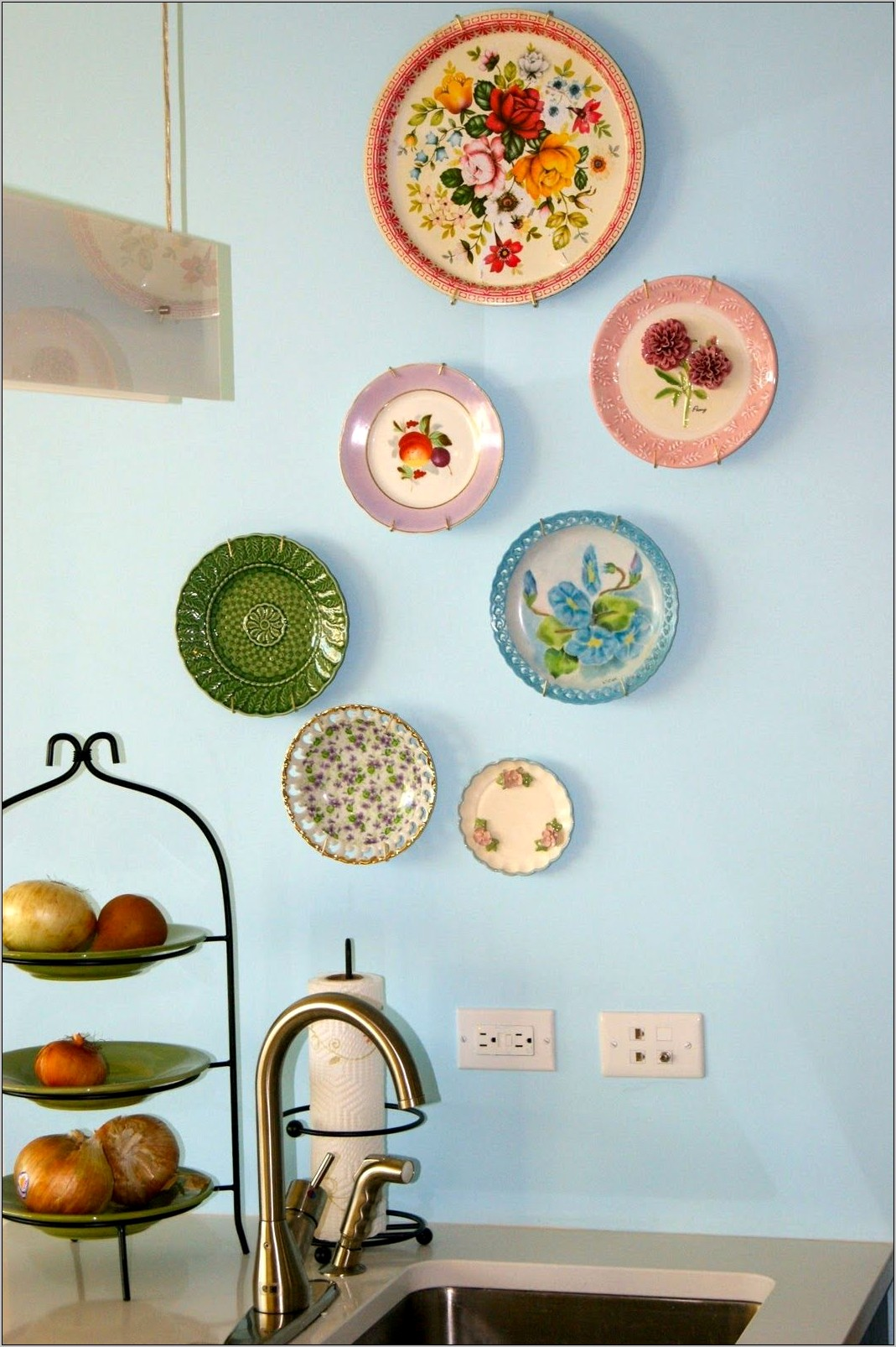 Kitchen Decor Wall Plates