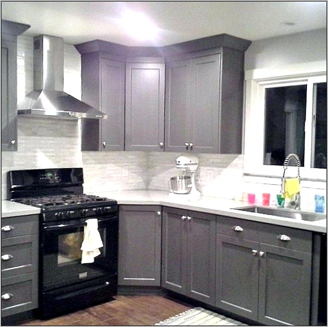 Kitchen Decor With Black Packages