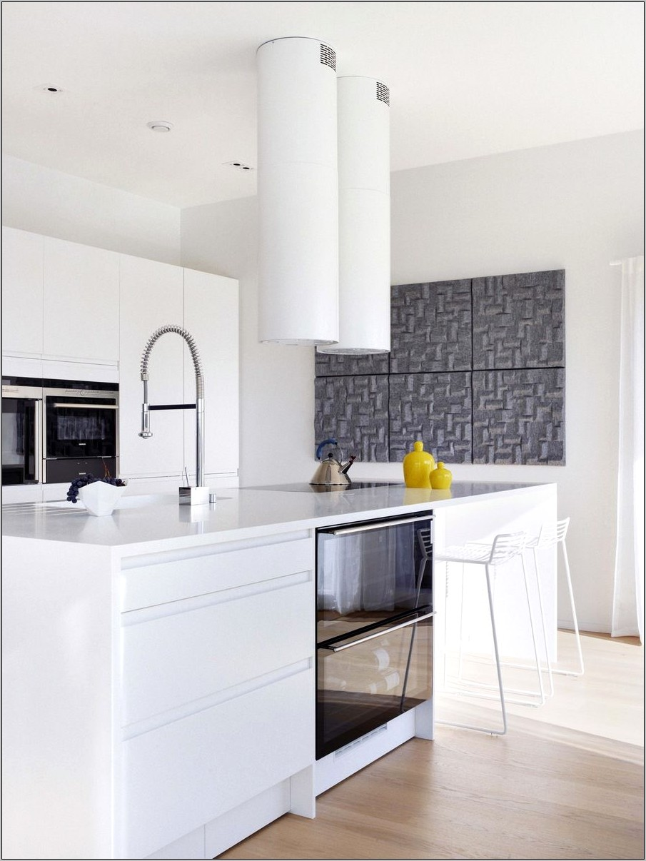 Kitchen Decor With Yellow Accents
