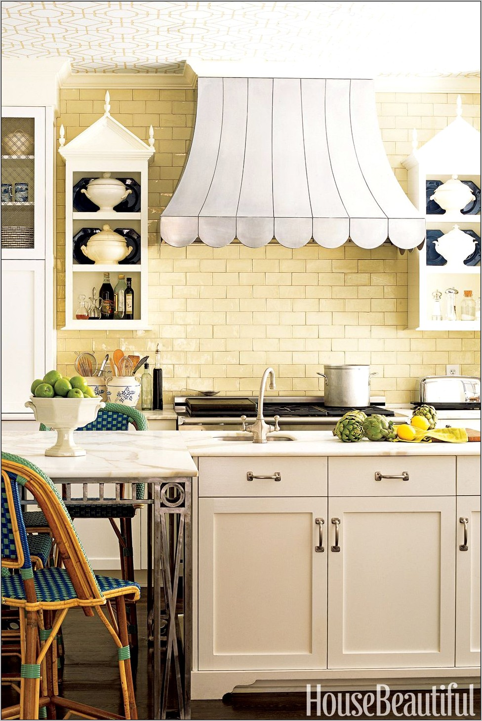 Kitchen Decor Yellow Walls